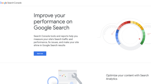 Google Search Console - Webmasters